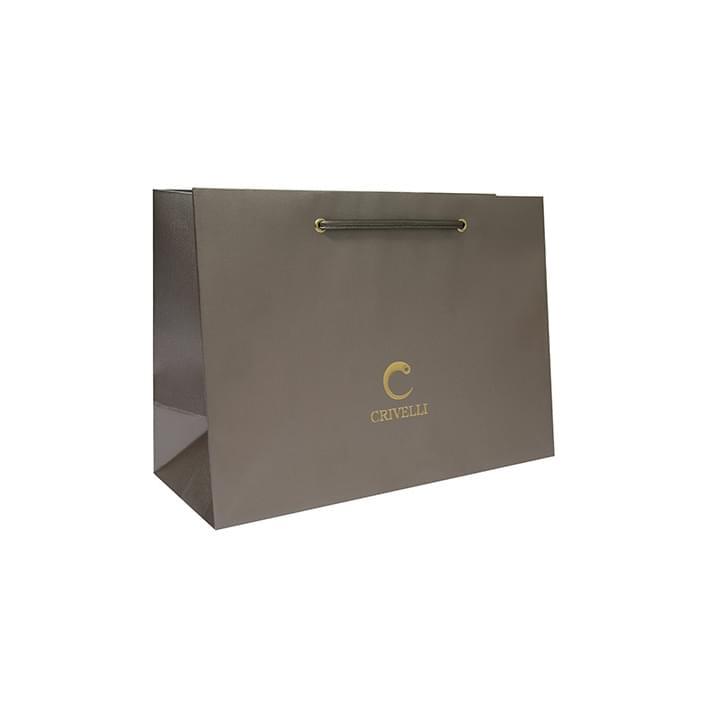 Luxury paper bags - borsa crivelli stampa litografica