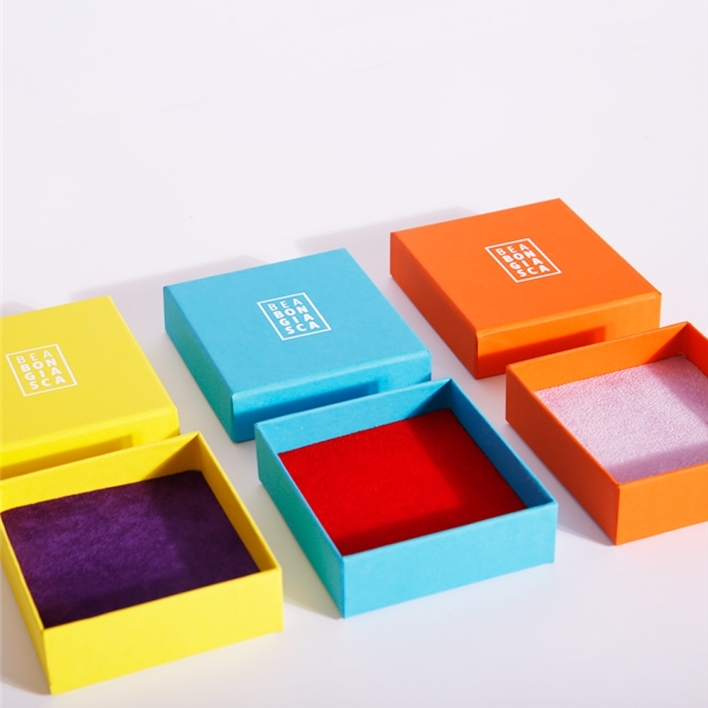 Jewelry boxes - colorate