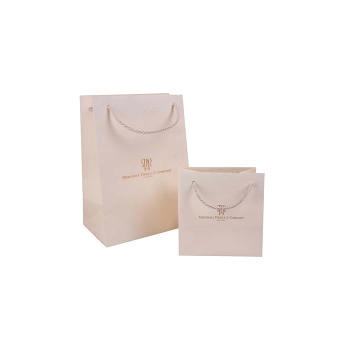 Luxury paper bags - textured lito