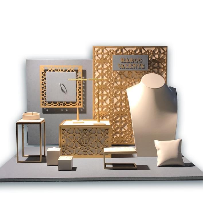 Displays set - VALENTE f