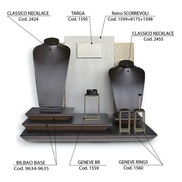 Displays set - vetrina-bilbao