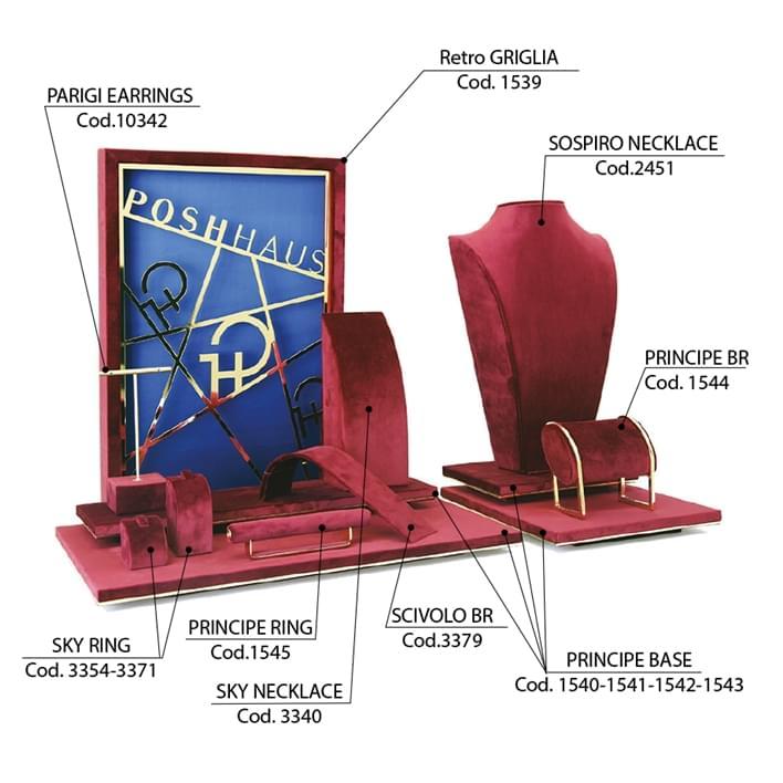 Create your jewelry display set - vetrina-griglia3