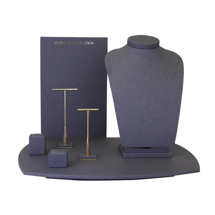 Jewelry display set - vetrina MARCO VALENTE  base newyork